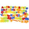 Niños Letra Del Alfabeto Magnético Matemáticas Símbolo de Imanes de Nevera de Regalo 80 Unids