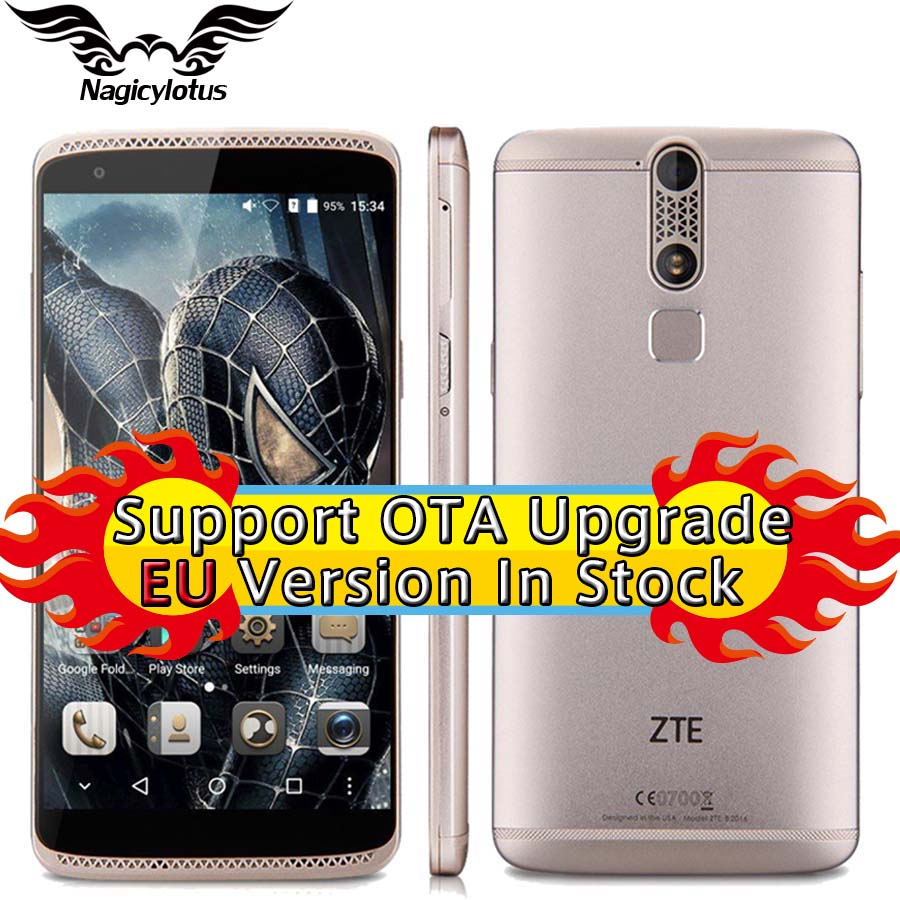 Original ZTE Axon Mini B2016 3GB RAM 32GB ROM Mobile Phone 5 2 inch Octa Core