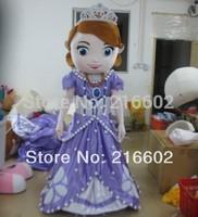 Маскарадные костюмы принцессы Софии костюм талисман для взрослых Размер Необычные платья Бесплатная доставка
