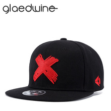 a85eac39d3824 Glaedwine New Fashion High Quality Hip Hop cap For Men Women Snapback X  embroidery flat brim