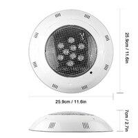 3 teile/los 6w 9w 12w 15w 18w 24w LED Schwimmbad Licht AC 12V RGB IP68 LED Fernbedienung Unterwasser Lampe Teich Lichter