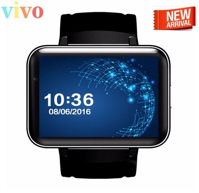 """Новые Bluetooth Smart Watch DM98 MTK6572 2 Г/3 Г Карточка SIM Камера 2.2 """"Android-OS 5.1 Часы Smartwatch Наручные Часы 900 мАч GPS Wi-Fi"""