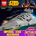 New Lepin 05062 1359pcs Genuine Star War Series The Imperial Star Destroyer Set 75055 Building Blocks Bricks Educational Toys
