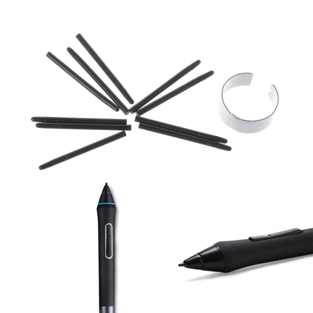 10 個のグラフィック描画パッド標準ペン先ワコムための描画ペン