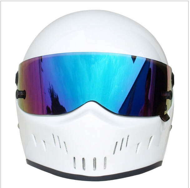 2015 New Motorcycle full face glass fiber reinforced plastic helmet ATV-2 Stig SIMPSON Star Wars pig capacete DOT