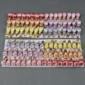 48 шт. цветные пенопластовые птицы, ремесла для свадьбы, домашнего фестиваля, украшения для самодельного изготовления скрапбукинга 1,2*2,6 см