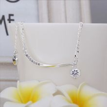 wave E123S 2014 fashion sale silver plated Brass bijoux vintage jewelry for men and women nice