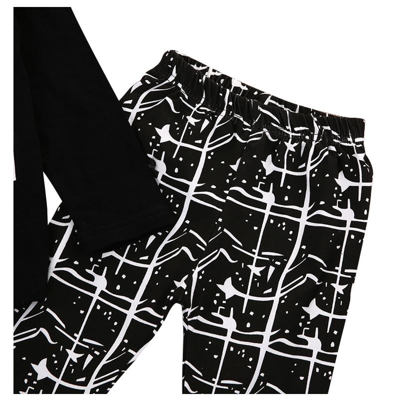 HOT SALE Boys Clothes Set T-shirt Tops+Long Pants 2PCS Outfits Size:0-6 Months