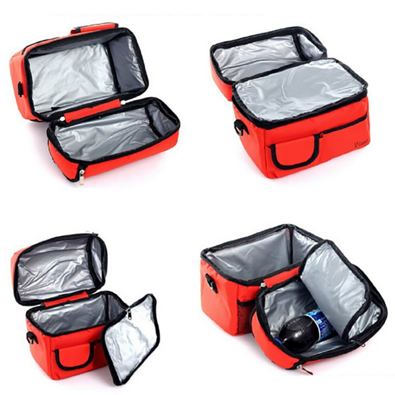 Portable Insulation Cooler Bag Multifunction lunch Pack Thermal Food Picnic Breast Milk Storage Bag Mummy Pack Shoulder Bag