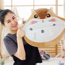 Fancytrader Cute Cartoon Hamster Plush Toy Mouse Pillow Cushion Dolls 50cm  Girl Birthday Gift 8 Expressions