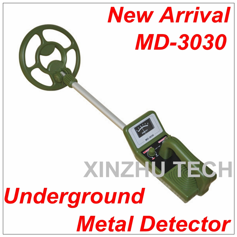 In stock MD-3030 Adjustable Underground Metal Detector Explore&Gold Detector Detection Instrument Green For Coin Exploration aluminium alloy ford cup 4 100ml paint viscosity cup portable viscosity meter