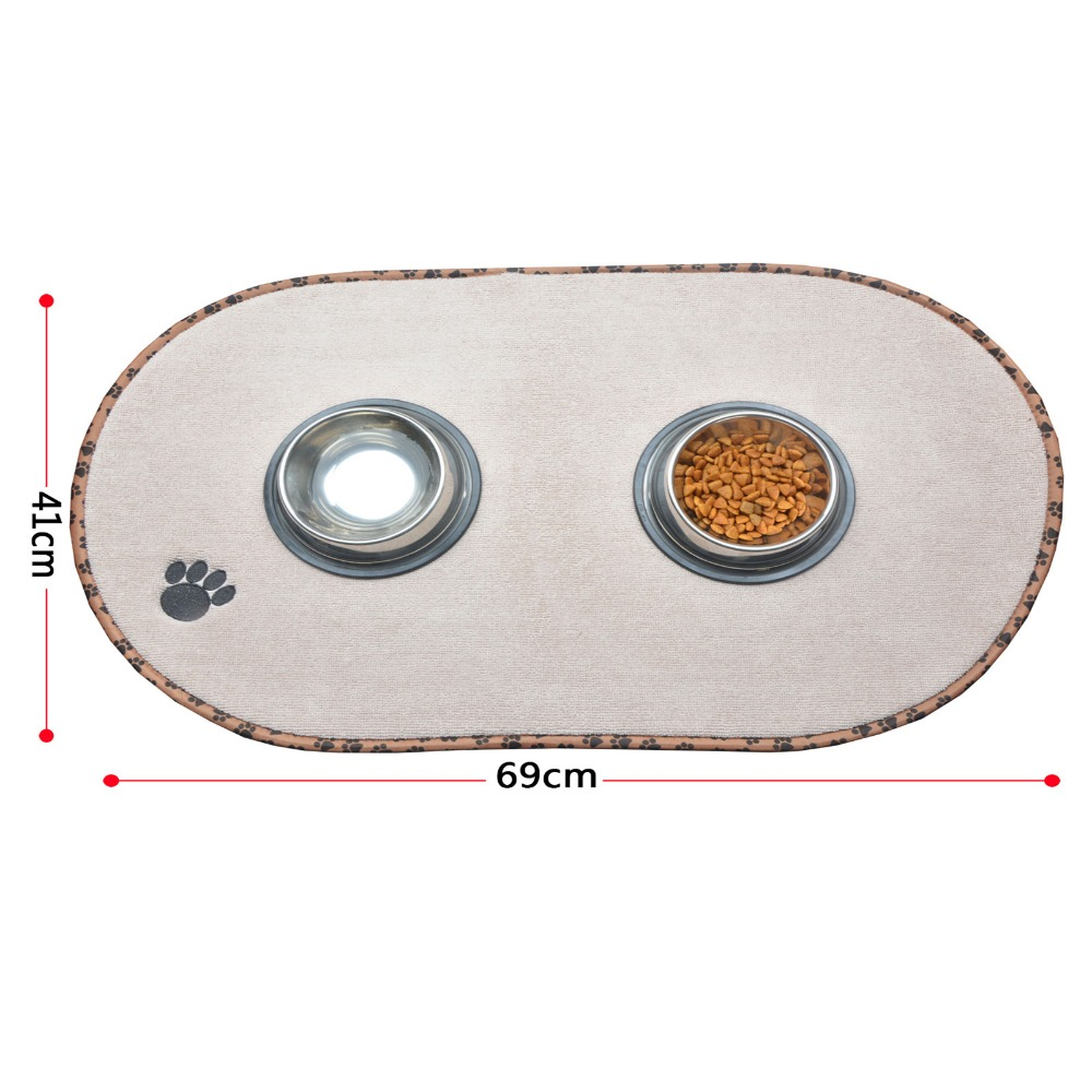 Sinland Microfiber Mat Mata do karmienia zwierząt domowych z - Produkty dla zwierząt domowych - Zdjęcie 2