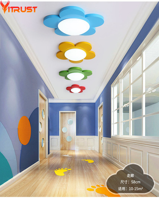 Kidslampade led Plafond Lampes Lustre Moderno Luminaires Plafonnier