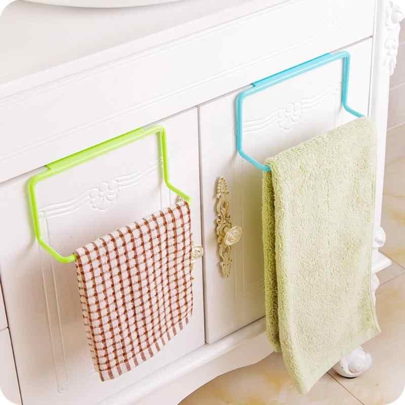 タオルラックぶら下げホルダー食器棚キッチンキャビネット浴室タオルラック食器棚ハンガー棚キッチン用品アクセサリー