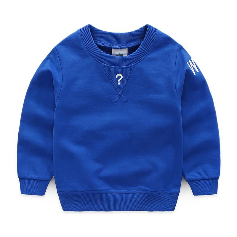 Baby boy sweatshirt spring autumn boy o-neck long-sleeve tops pullover Kids Outerwear Boys Long-sleeve Top 2-10T