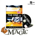 2015 New The One 2.0 (Gimmick+DVD)  classic,mentalism,illusion,Accessoriesclose-up card magic trick products /  wholesale