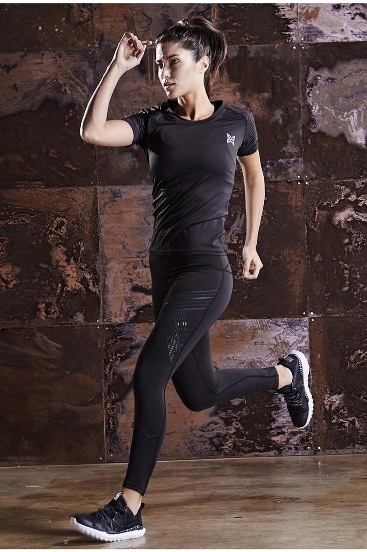 Jogging ternos roupas femininas correndo conjunto de