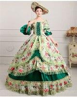 Royal Court Medieval Dress Queen Renaissance Ball Gown Victorian Evening Dress Halloween Formal Event Cosplay Costume