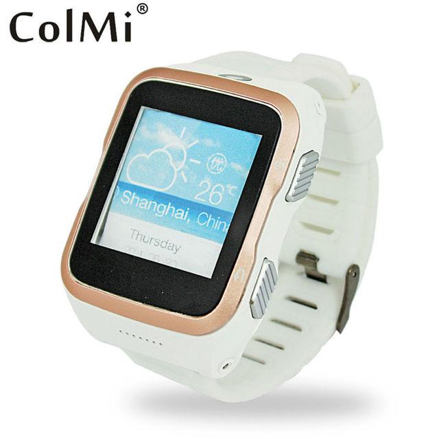 ColMi Smart Watch VS103 ОС Android 5.1 Поддержка 3 Г WI-FI GPS Вибрации Android APP Скачать Шагомер Sleep Tracker Smart Watch