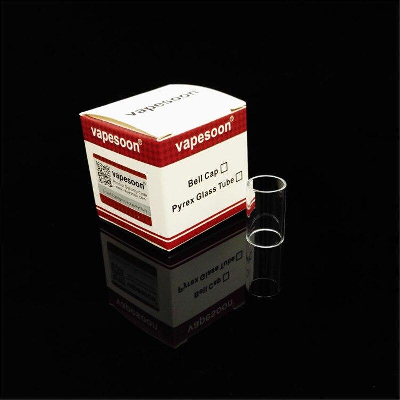 Оригинал vapesoon Запасных Замена Pyrex Стеклянная Трубка Емкость 1.7 мл Подходит для Topevod Kanger Топ Evod Starter Kit