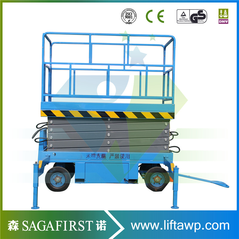 Asia Hot Sales Electric Scissor Lift Platform