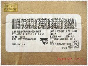 Image 3 - 2018 بيع 30 قطعة VISHAY ديل PTF65 1K/0.5 واط 0.05% 10ppm عالية الدقة درجة حرارة منخفضة الانجراف المعادن فيلم المقاومات شحن مجاني