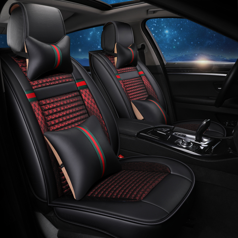 2018 New style Universal flax car seat covers auto accessories for skoda yeti opel insignia renault logan peugeot car styling front rear universal car seat covers for lifan x60 x50 320 330 520 620 630 720 car accessories auto styling