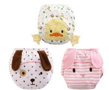2016 new styling 1PCS Baby Waterproof Reusable cotton Diapers Children Cloth Diaper Training Pants Diaper Cover