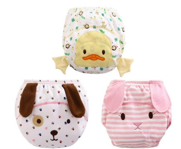2016 new styling 1PCS font b Baby b font Waterproof Reusable cotton Diapers Children Cloth Diaper