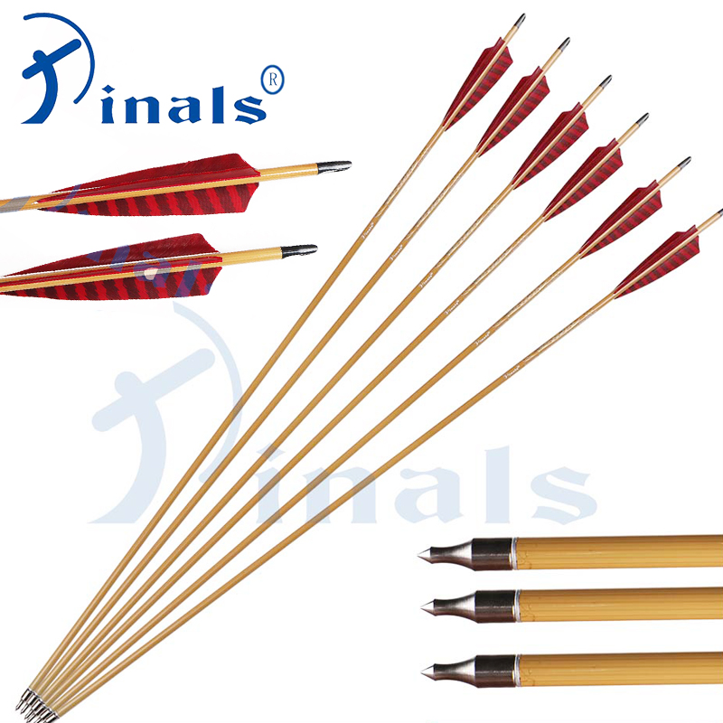 6pcs Hunting Archery 30/'/'Carbon Arrows Turkey feather for 20-50lbs Compound bow