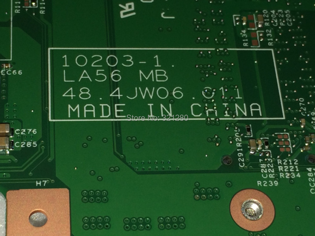 Frete grátis + novo mb la56 48.4jw06.011 motherboard laptop para lenovo ideapad b560 notebook comparar antes da ordem
