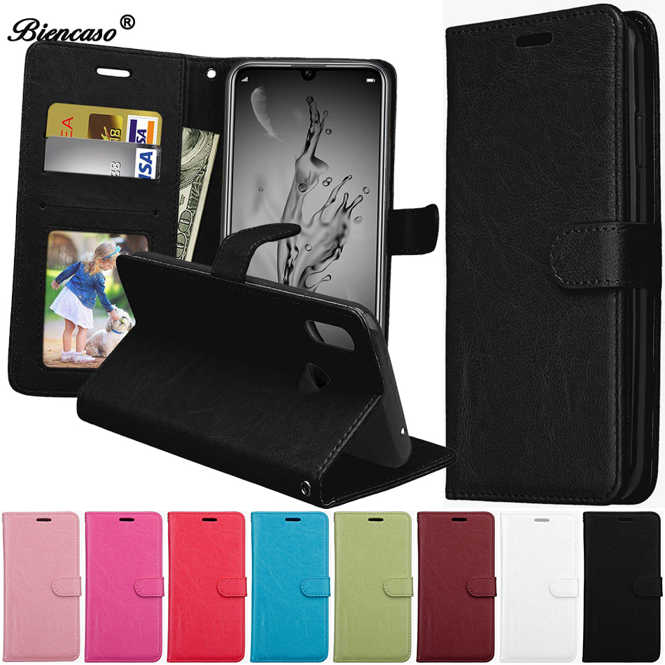 Leather Wallet <font><b>Case</b></font> For Huawei Y3 2 Y6 II Compact Y5 Prime Y6 Pro 2017 Y7 Y9 2018 <font><b>Honor</b></font> 7A <font><b>7C</b></font> Nova 2 Lite Phone Cover <font><b>Flip</b></font> Coque image