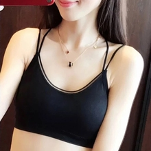 chest wrap women tube top underwear with chest pad suitable for sports sexy summer tube tops chest pocket wrap blouse