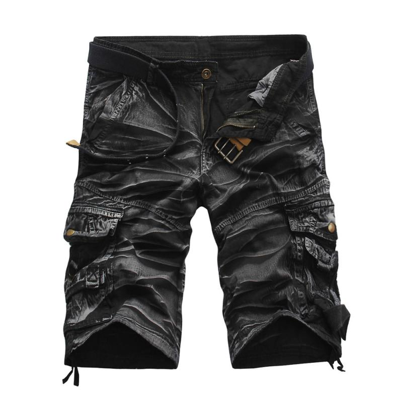 fashion Camouflage Camo Cargo Shorts Men 2018 New Mens Casual Shorts Male Loose Work Shorts Man Military Short Pants Plus Size