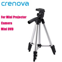 Crenova Top Sale Tripod Flexible For Nikon Canon Casio Fuji Pentax Sony 1090mm Portable Mini Pico Projector DV Digital Camera
