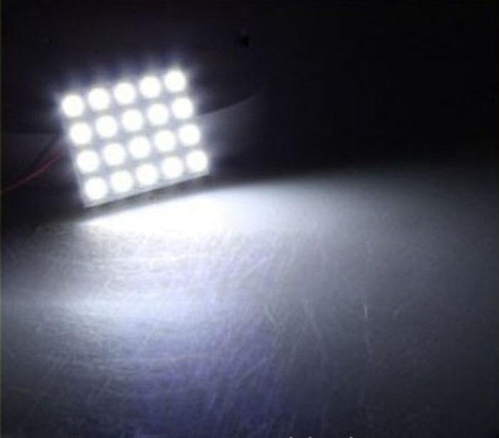 kongyide Healight Bulbs 20 SMD 5050 LED T10 BA9S Dome Festoon Car Panel Lamp 12V NOV10
