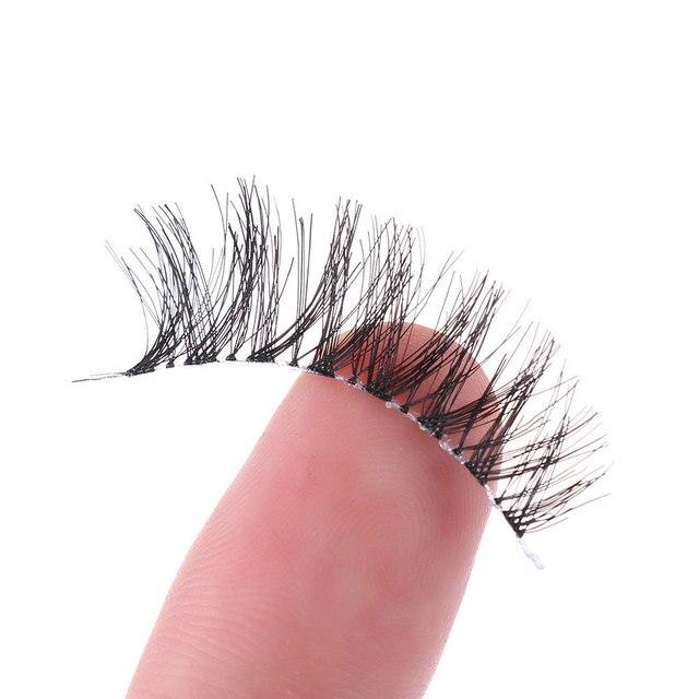 5 Pairs Handmade Thick Full False Eyelashes Natural Long Eyelashes Set Fake Lashes Eye Extension Tool Makeup 5