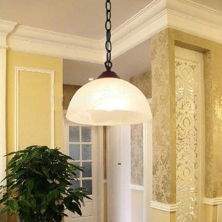 ФОТО Single pendant light brief fashion bar pendant light entrance lights wrought iron pendant lamp