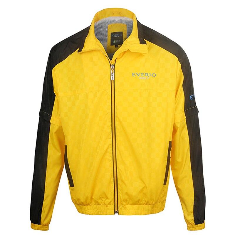 Veste de Golf manteau à glissière pour hommes imperméable à l'eau en plein air Golf coupe-vent sport vêtements masculins pour automne chemise de golf à manches longues ou vestes - 2