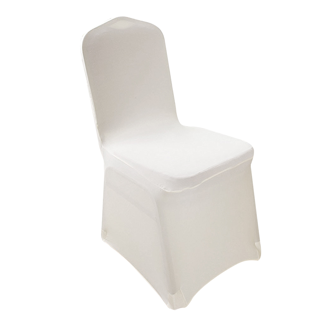 Hot gczw 2 pieces elegant stretch strap free chair covers bi elastic chair cover made of elastane for banquet hall