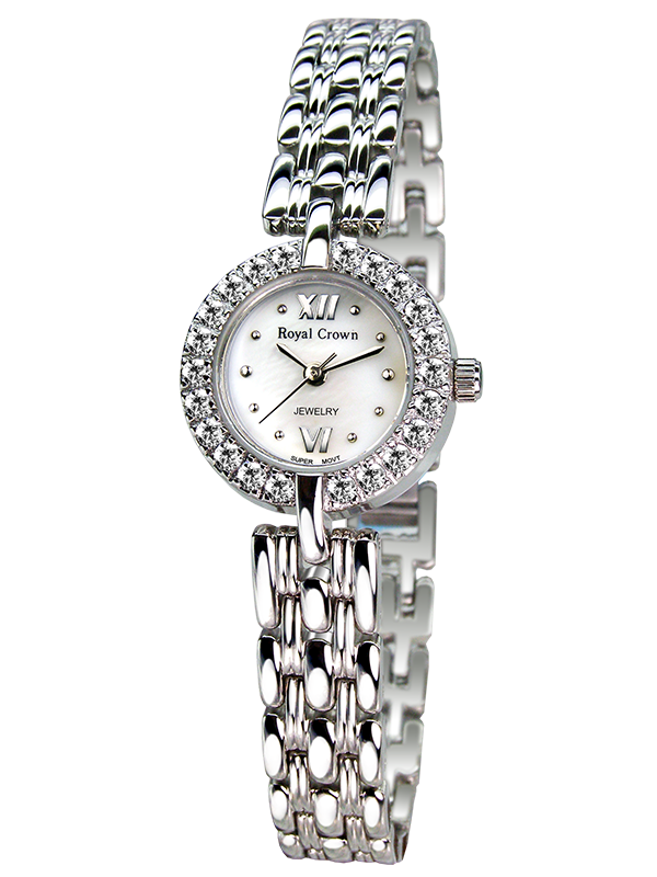 Royal Crown Jewelry Watch 3602S Italy brand Diamond Japan MIYOTA platinum exquisite fashion female bracelet relogio feminino royal crown jewelry watch 1514b italy brand diamond japan miyota platinum bracelet korean version female watch fashion