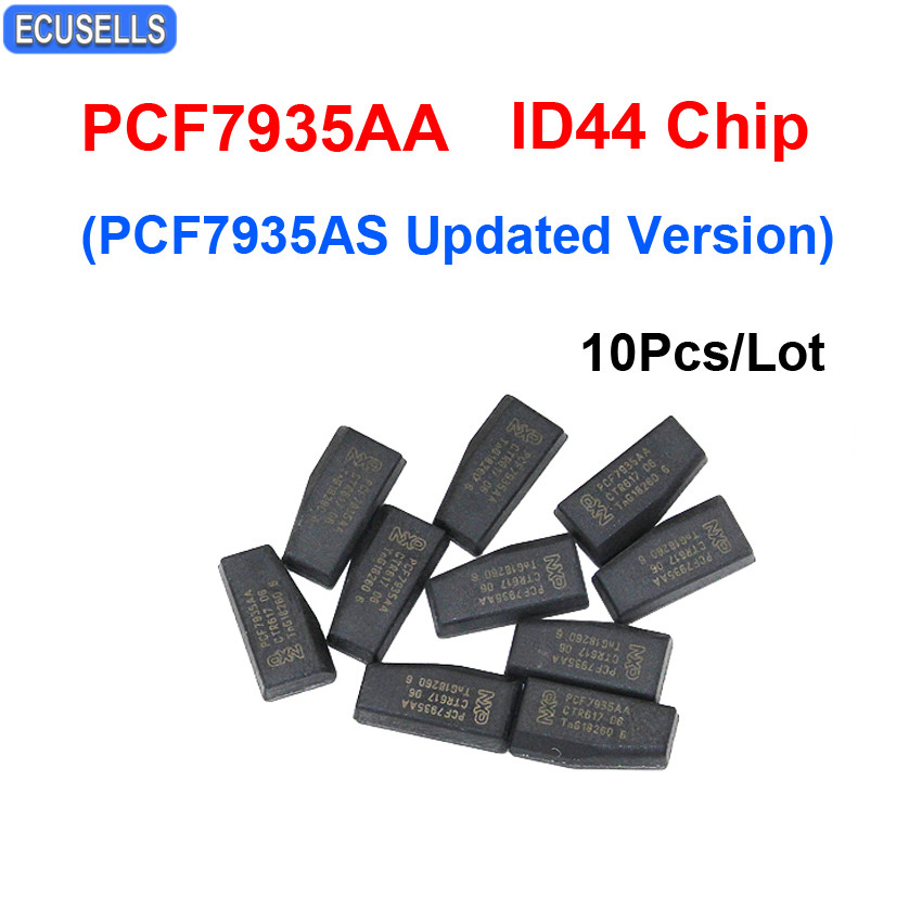 10Pcs Lot PCF7935AA ID44 Transponder Car Key Chip PCF7935 7935 Chip PCF7935AS Updated Version For BMW