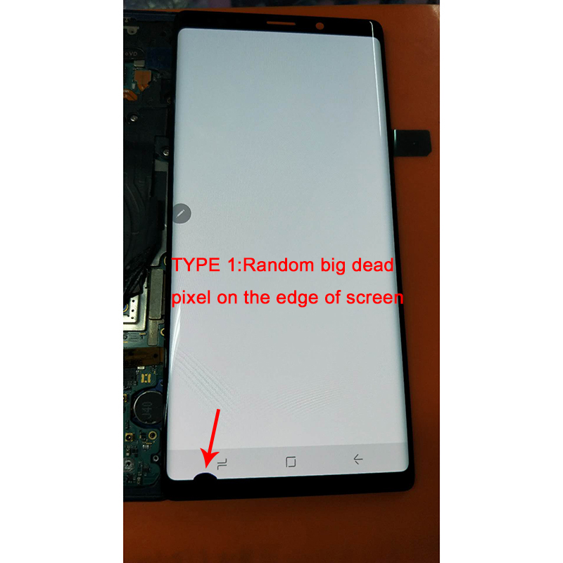 AMOLED 6.4'' LCD For SAMSUNG GALAXY Note 9 Note9 N960D N960F N960DS Lcd Display +Touch Screen Replacement Parts +big Dead Pixel