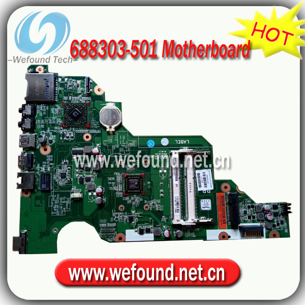 Hot! Laptop Motherboard Mainboard 688303-001 688303-501 For HP 2000-2107TU CQ58-103TU
