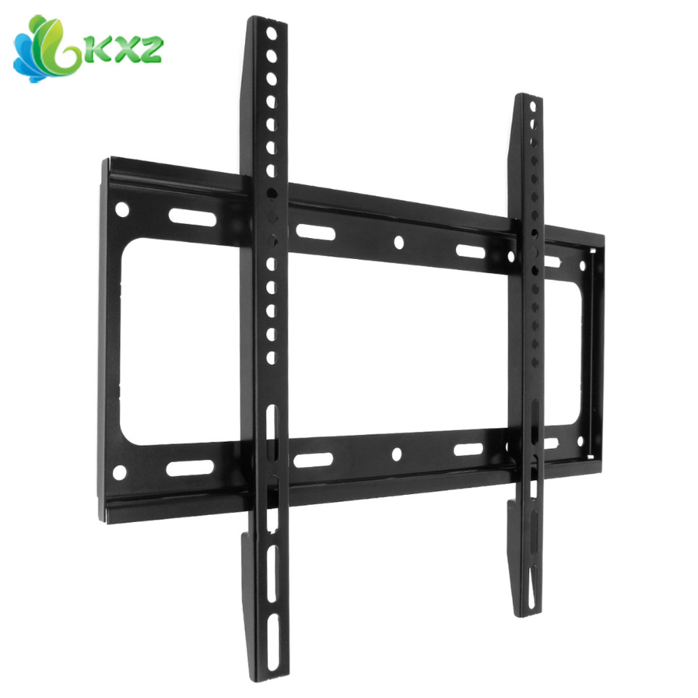 universal tv wall mount bracket for most 26 55 inch hdtv lcd led plasma flat panel tv stand. Black Bedroom Furniture Sets. Home Design Ideas