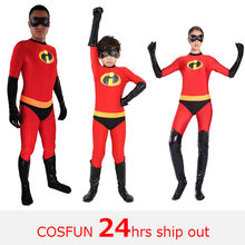 Суперсемейка; Костюм для костюмированной вечеринки детей; Высокоэластичный