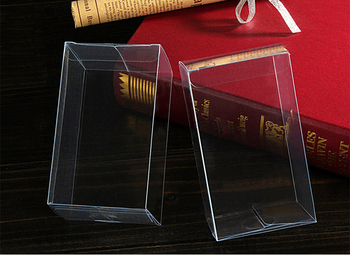 200pcs 7x7x9 Jewelry Gift Box Clear Boxes Plastic Box Transparent Storage Pvc Box Packaging Display Pvc Boxen For Wed/christmas 200pcs 7x7x8 jewelry gift box clear boxes plastic box transparent storage pvc box packaging display pvc boxen for wed christmas
