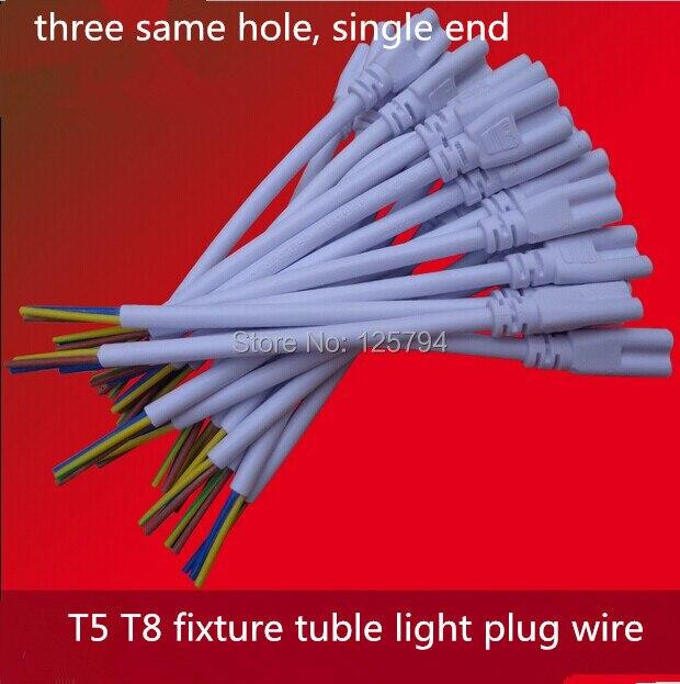 10 teile/los freies schiff 15 cm lange T5 T8 led lampe power kabel ...