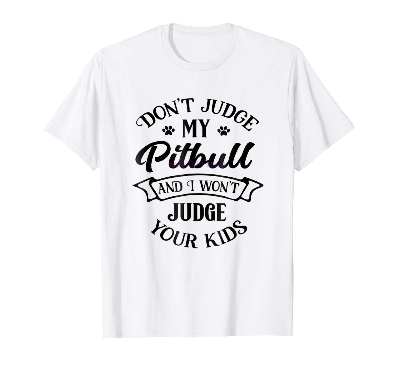 Gildan Brand Men Shirt Cute Pitbull Mom T Shirt Rude Pit