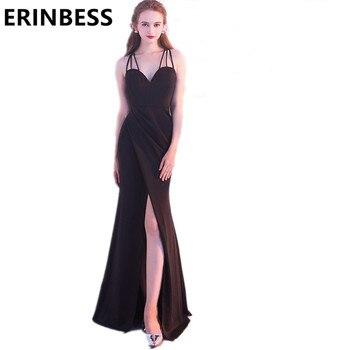 e4578eb3a3c955a Product Offer. Сзади крест черное платье русалки с глубоким декольте  Выпускные ...